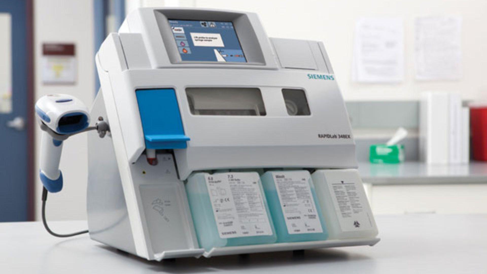 血液ガス分析装置 ラピッドラボ348EX