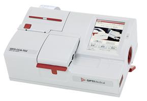 ラップトップ型血液分析システム OPTI CCA-TS2
