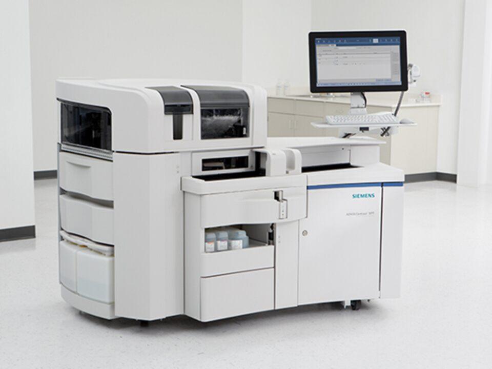 全自動化学発光免疫測定装置 ケミルミ ADVIA Centaur XPT